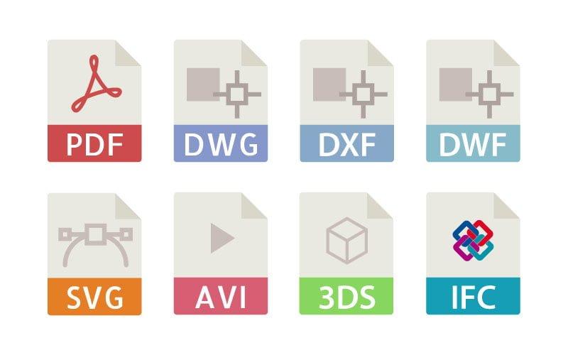 Rodzaje formatów używanych do obsługi dokumentacji projektowej
