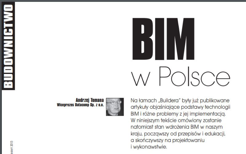 BIM w Polsce